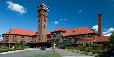 Portland Union Station - photo from the Amtrak Website
