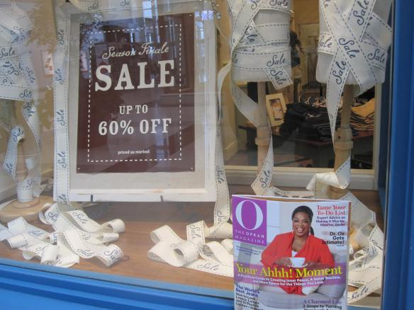 Even Oprah loves a good sale.  Me too!